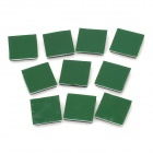 TM-20 Handy Nylon66 Adhesive Cable Management Retaining Fixator - Green + Black (10 PCS)