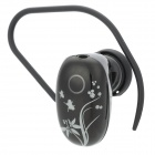 UTEL H52 Mini Bluetooth V3.0 Stereo Earbud Earphone w/ Handsfree / Audio - Black + White