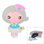 Cute Little Girl Style Mouse Pad Mat - Multicolor