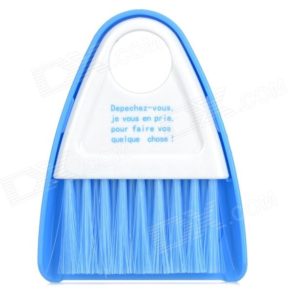 Cleaning Dustpan + Broom Brush for Microwave Oven - Blue + White mymei new cute microwave cleaning angry mom oven steam cleaner disinfects with vinegar and water household cleaning tools