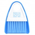 Cleaning Dustpan + Broom Brush for Microwave Oven - Blue + White