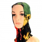Multifunction Outdoor Sports Bicycle Cycling Seamless Head Scarf - Red + Yellow + Green