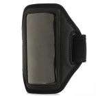 Outdoor Sports Gym Arm Band Armband Case for Samsung Galaxy Win i8552 - Black