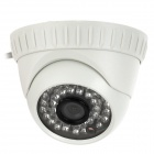600TVL Built-in IR-CUT Security 36 IR LED Indoor CCTV  Dome Camera - White  (PAL)