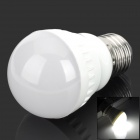 E27 4W 260lm 6000K White Light LED Bulb - Milk White (85-265V)