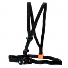 Extreme Sport Front Chest Elastic Belt Shoulder Strap Mount Holder for Camera - Black
