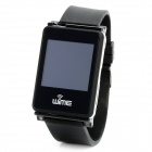 "WIME MKWMP-1 1.54"" Resistive Screen NanoSmart Bluetooth V2.1 Dialer Headset GSM Watch Phone - Black"
