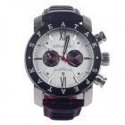 SPEATAK SP9003G Fashionable Men's Quartz Wrist Watch w/ Calendar - Black+Red (1 x LR44)