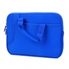 "8610 Protective PVC Soft Liner Handbag for Ipad 1 / 2 / 3 / 9.7"" Tablet PC - Blue"
