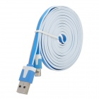 USB 2.0 to 8pin Lightning Data / Charging Cable for iPhone 5 / iPad Mini - Blue (3m)