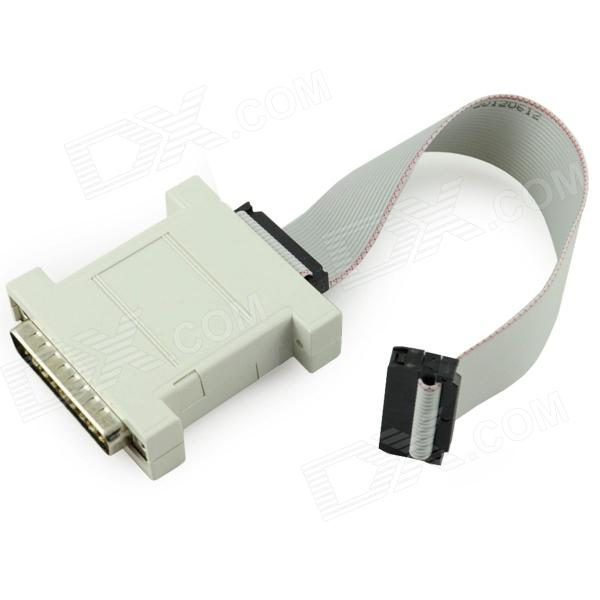 Wiggler HJTAG ARM Debugger Downloader - White