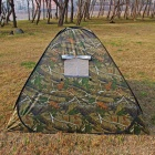 BL-A016-1 Auto Steel Wire 3~4 Person 1-Door Camping Tent - Camouflage Color