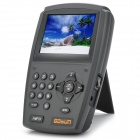 "Handheld Multifunction 3.5"" LCD Digital Satellite Finder - Black"