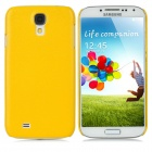 TEMEI Skin Style Protective PC Hard Back Case for Samsung Galaxy S4 i9500 - Yellow