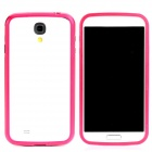 Protective Aluminum Alloy Bumper Frame for Samsung Galaxy S4 i9500 - Deep Pink