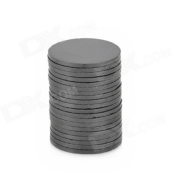 19 x 1.2mm Ferrite Magnets for Electronic DIY - Black (20 PCS) 12 x 1 5mm ferrite magnet discs black 20 pcs