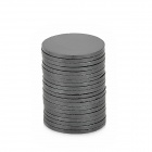 19 x 1.2mm Ferrite Magnets for Electronic DIY - Black (20 PCS)