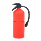 Fire Extinguisher Shaped USB 2.0 Flash Drive - Red + Black (16GB)