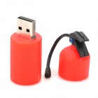 Extintor Shaped USB 2.0 Flash Drive - Red + Black (16GB)