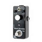 DM DM-3 Aluminum Alloy 3-Mode Heavy Metal Distortion-Effekt-Pedal - Schwarz + Silber