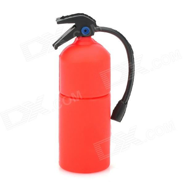 Fire Extinguisher Style USB 2.0 Flash Drive - Red + Black (8GB)