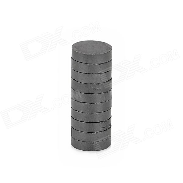 7.5 x 1.9mm Ferrite Magnets for Electronic DIY - Black (10 PCS)