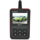 "Vgate E-scan V10 2.8"" LCD Screen OBDII Car Scan Tool for Gasoline Motor Car - Black + Red"