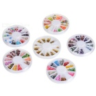 DIY Multi-Style Nail Art / Decoration Sticker Set Cases - Multicolored