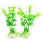 Aquarium / Fish Tank Simulation / Artificial Water Plants  - Green + Red + Purple (10 PCS)