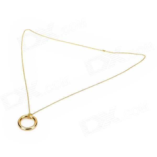 L880 Magic Necklace Chain Ring - Golden