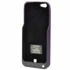 Backup 2200mAh Battery w/ Back Case / Stand for iPhone 5 - Purple + Black
