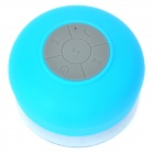 BTS-06 Water Resistant Bluetooth Speaker for IPHONE 5 - Blue