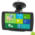 "A-589 Android 4.0 5"" MID + Capacitive Screen GPS Navigator w/ 512MB RAM / 8GB for Europe - Black"