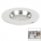 "FENGMING 3175 Large Hole Kitchen Stainless Steel Sink Basin Sieve - Silver (3"")"