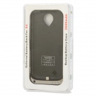 External 3600mAh Power Battery Charger Back Case for Samsung Galaxy S4 i9500 - Black