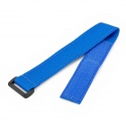 Nylon Velcro Wi-Fi Remote Control Wristband Strap for GoPro Hero 3 / 3+ / SJ4000 - Blue