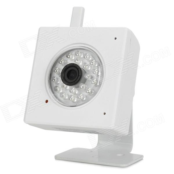 "IPS-Eye04w 2.0 MP 1/4"" CMOS Indoor IP Security Surveillance Camera w/ Wi-Fi / 22-IR LED - White"