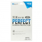 NEWTOP PET Clear Front + Back Protectors Set for Iphone 5 - Transparent