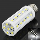 HNY6007-7W E27 7W 600lm 6000K 36-SMD 5050 LED White Light Lamp - White + Grey + Yellow (85~300)