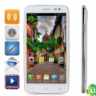 "iNew i4000 Quad-Core Android 4.2 WCDMA Bar Phone w / 5,0 ""IPS FHD, 16GB ROM, 1GB RAM, GPS - Weiß"