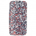 iTOP Animal Patterns Style Protective PU Leather Case w/ Screen Protector for Samsung S4 i9500