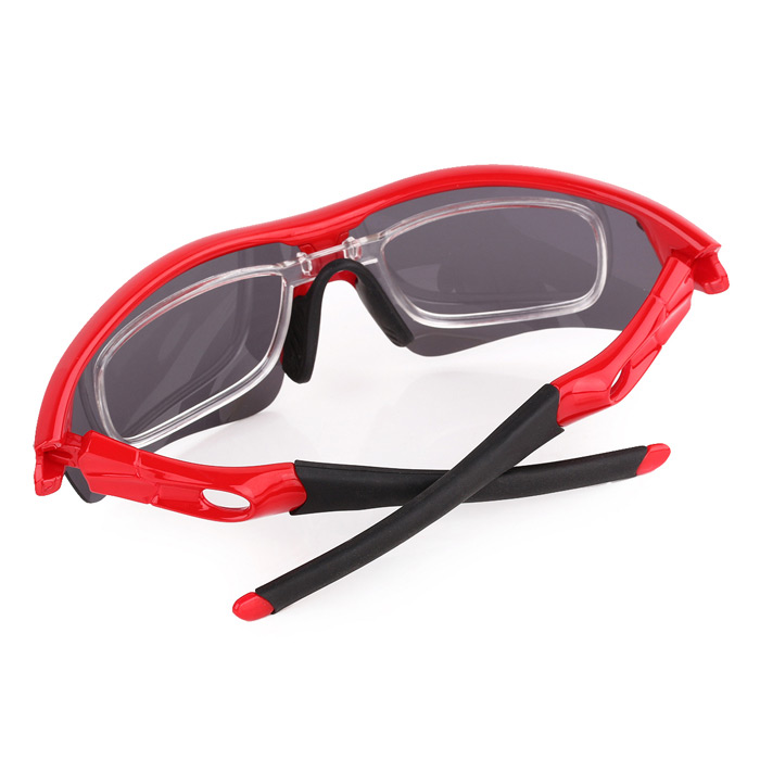 ee8960a2ff6 T-Rex BP-6192 Outdoor Cycling Polarized UV400 Protection Resin Frame PC  Lens Sunglasses - Red
