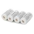 "TangsFire 18350 3.7V ""1500mAh"" Li-ion Batteries w/ Case (4 PCS)"