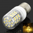 E27 2.5W 215lm 3000K 60-SMD 3528 LED Warm White Light Lamp w/ Dust Cover - White + Yellow (220V)