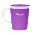 Beduso BDX-1116 Fashion Cup - Purple + White (300ml)