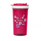 YooYee 410 Double Heat Insulation Fashion Cup - Deep Pink (300ml)