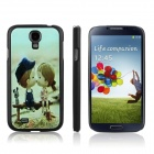 ENKAY Kiss Baby Pattern Protective Plastic Case for Samsung Galaxy S4 / i9500 - Multicolor
