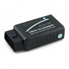 ELM327 OBDII Bluetooth Car Diagnostic Wireless Transceiver - Black