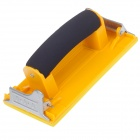 JINYA High-Grade Matte Paper Sander - Yellow + Black