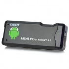 REKO MK802 Android 4.0 Mini PC Google TV Player w/ ESD - Black (1GB RAM / 4GB ROM / US Plug)